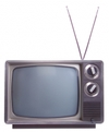 70's TV with rabbit ears
