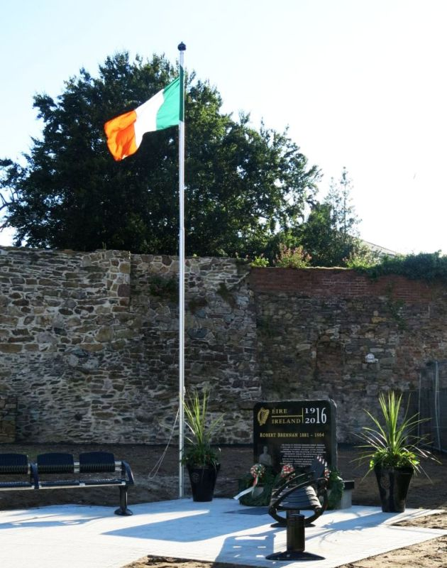 Robert Brennan Memorial at Abbey Street, Wexford