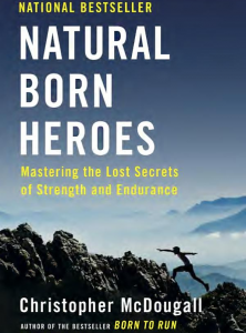 book cover: Natural Born Heroes